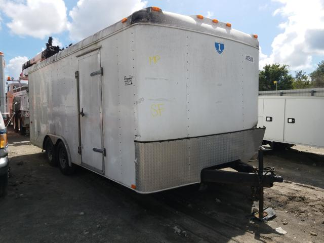 Utility Trailer salvage cars for sale: 2007 Utility Trailer