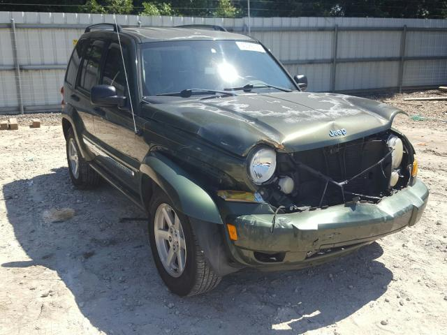 Salvage cars for sale from Copart Midway, FL: 2006 Jeep Liberty LI