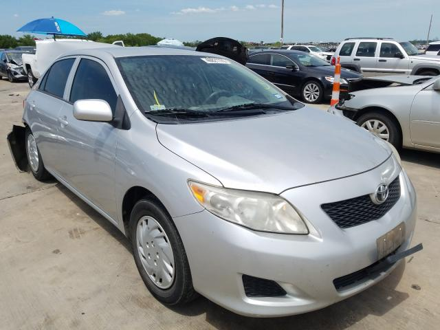 Salvage cars for sale from Copart Grand Prairie, TX: 2010 Toyota Corolla BA