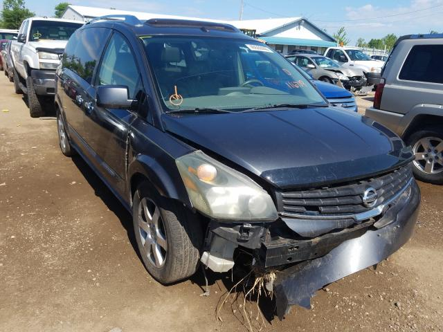 Nissan Quest S salvage cars for sale: 2008 Nissan Quest S