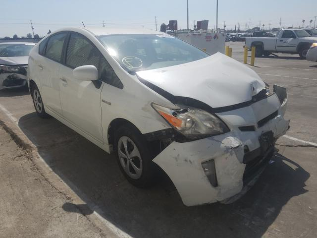 Salvage cars for sale from Copart Sun Valley, CA: 2012 Toyota Prius