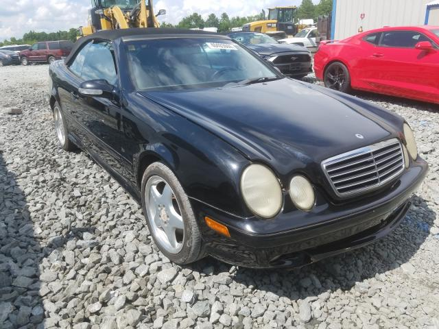 Mercedes-Benz CLK 430 salvage cars for sale: 2010 Mercedes-Benz CLK 430