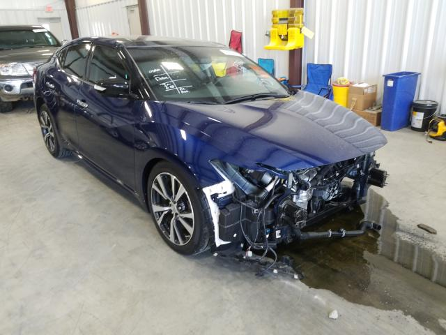 Nissan Maxima 3.5 salvage cars for sale: 2017 Nissan Maxima 3.5