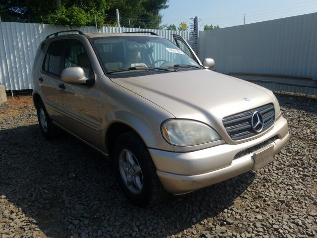 Mercedes-Benz salvage cars for sale: 2001 Mercedes-Benz ML 320