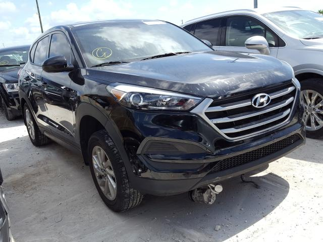 Hyundai Tucson SE salvage cars for sale: 2018 Hyundai Tucson SE