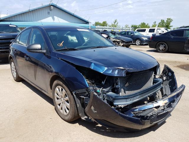 Salvage cars for sale from Copart Pekin, IL: 2011 Chevrolet Cruze LS