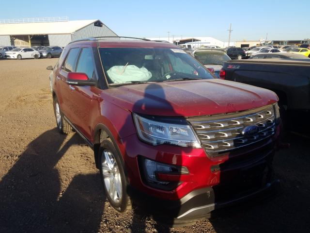 Ford salvage cars for sale: 2017 Ford Explorer L