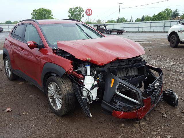 Salvage cars for sale from Copart Columbia Station, OH: 2018 Hyundai Kona SEL