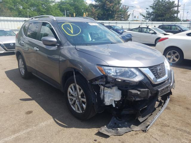 Salvage cars for sale from Copart Moraine, OH: 2020 Nissan Rogue S