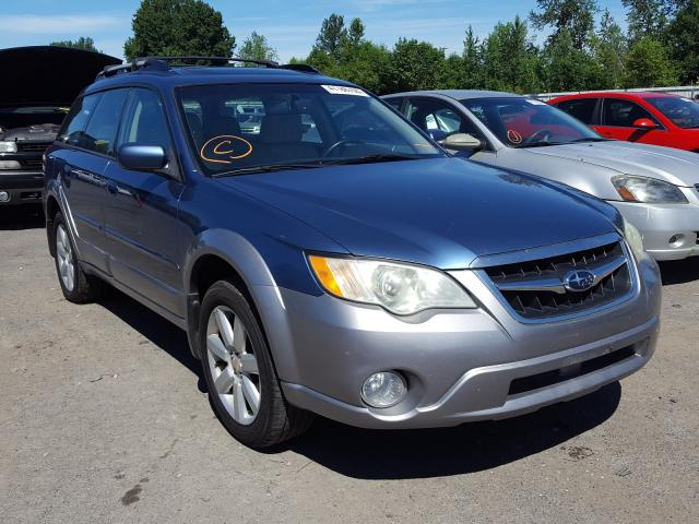 Subaru Outback 2 salvage cars for sale: 2008 Subaru Outback 2
