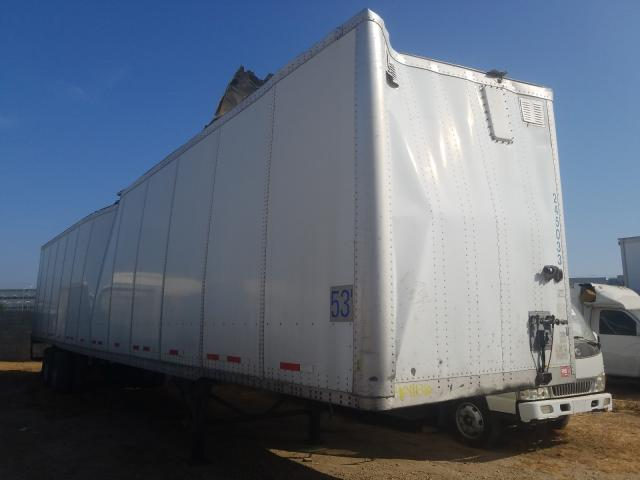 Wabash 53 Trailer salvage cars for sale: 2007 Wabash 53 Trailer