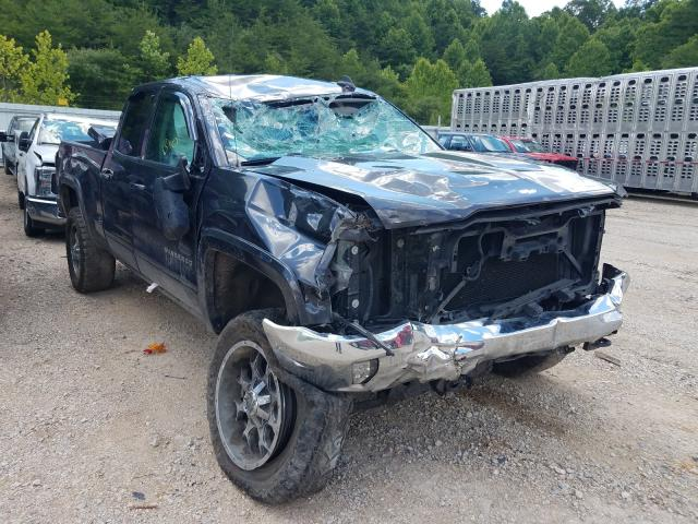 Salvage cars for sale from Copart Hurricane, WV: 2016 Chevrolet Silverado