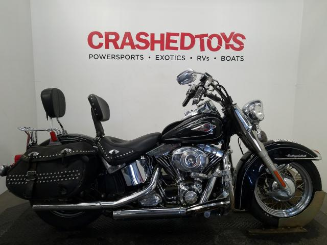 Harley-Davidson salvage cars for sale: 2009 Harley-Davidson Flstc