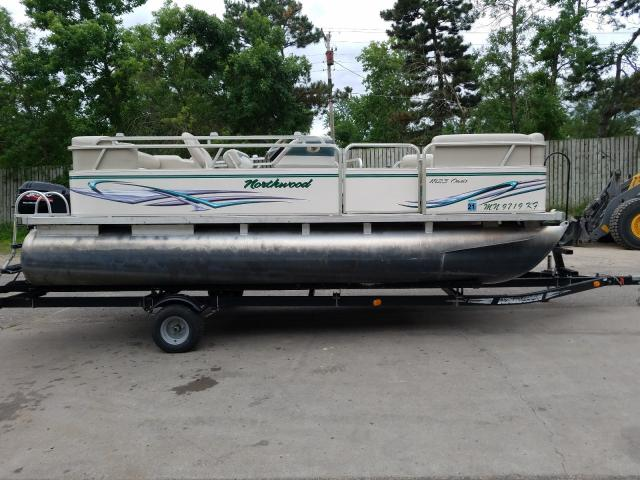Northwood salvage cars for sale: 2007 Northwood Pontoon