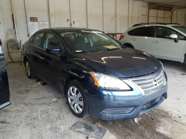 Salvage cars for sale from Copart Madisonville, TN: 2013 Nissan Sentra S