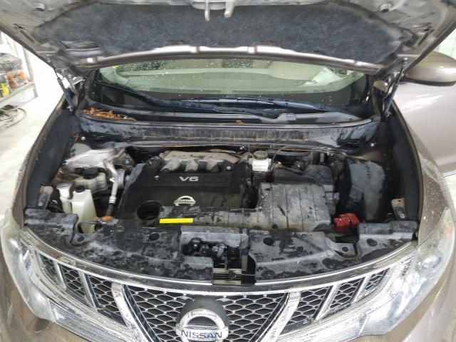JN8AZ1MU5CW121285 2012 NISSAN MURANO S