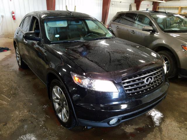 Infiniti FX45 salvage cars for sale: 2005 Infiniti FX45