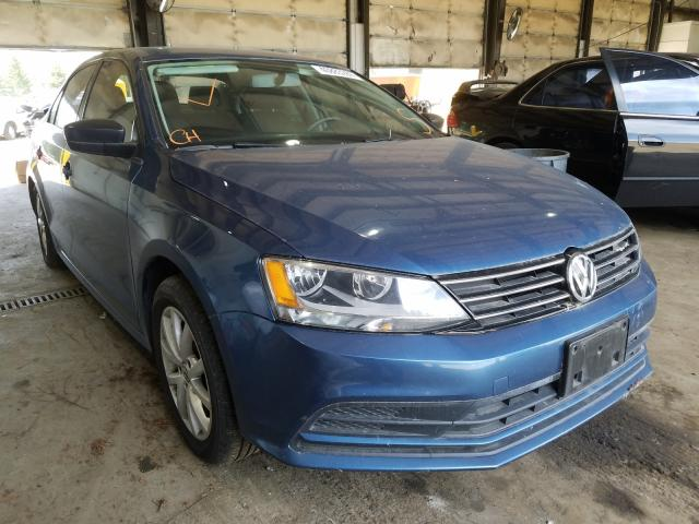 Salvage cars for sale from Copart Graham, WA: 2015 Volkswagen Jetta SE