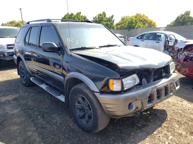 Isuzu salvage cars for sale: 2002 Isuzu Rodeo S
