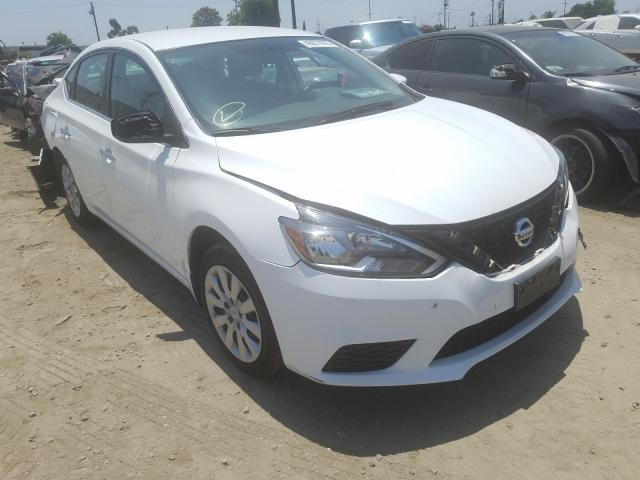 Nissan salvage cars for sale: 2019 Nissan Sentra S
