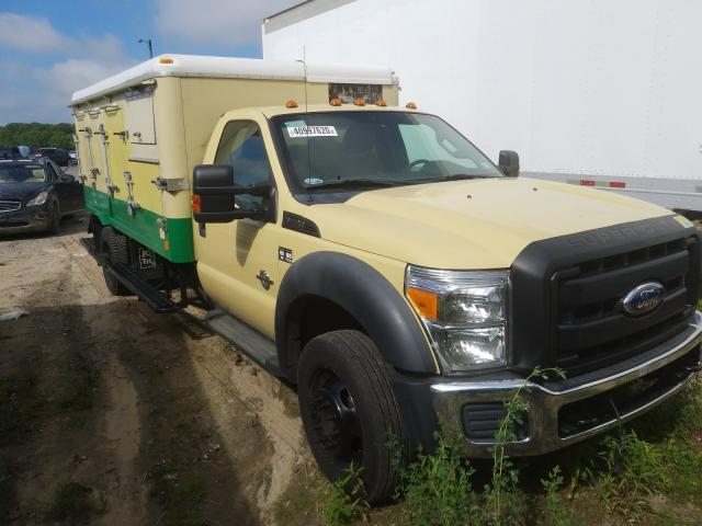 Salvage cars for sale from Copart Glassboro, NJ: 2011 Ford F550 Super