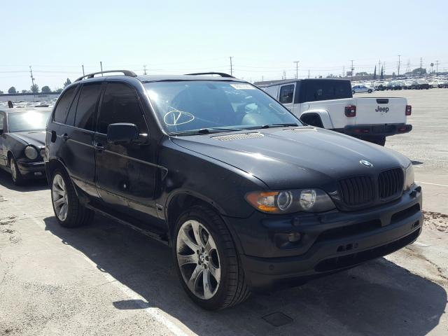 Salvage cars for sale from Copart Sun Valley, CA: 2004 BMW X5 4.8IS