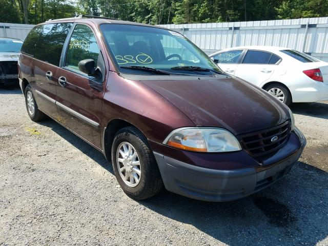 Salvage cars for sale from Copart Fredericksburg, VA: 2000 Ford Windstar L
