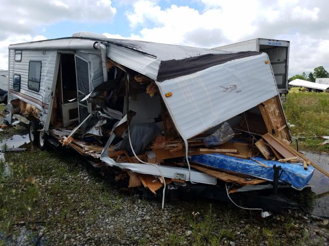 Salvage cars for sale from Copart Cicero, IN: 1999 Jayco Qwest