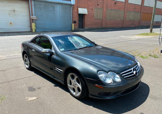 Mercedes-Benz salvage cars for sale: 2004 Mercedes-Benz SL 500