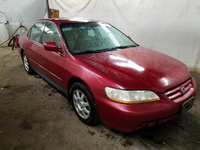 Salvage cars for sale from Copart Ebensburg, PA: 2002 Honda Accord EX