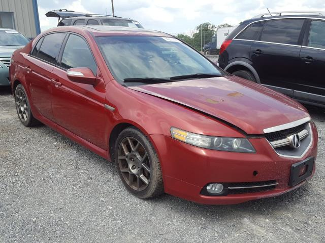 Salvage cars for sale from Copart Chambersburg, PA: 2007 Acura TL Type S