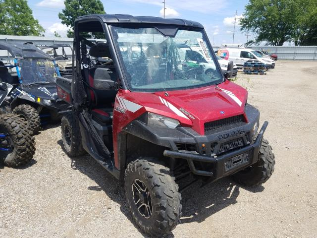 Salvage cars for sale from Copart Pekin, IL: 2013 Polaris Ranger 900