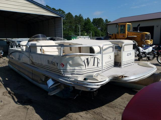 Bennche Pontoon salvage cars for sale: 2004 Bennche Pontoon