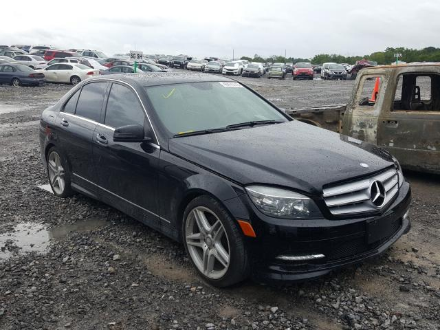 Salvage cars for sale from Copart Madisonville, TN: 2011 Mercedes-Benz C 350