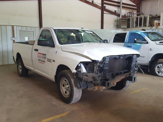 Salvage cars for sale from Copart Longview, TX: 2013 Dodge RAM 1500 ST