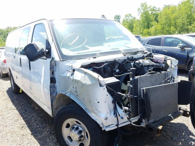 Chevrolet Express G2 salvage cars for sale: 2018 Chevrolet Express G2