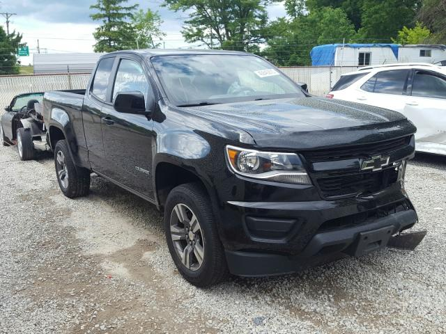 Salvage cars for sale from Copart Northfield, OH: 2017 Chevrolet Colorado