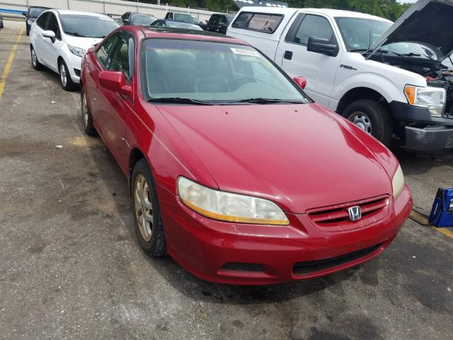 Honda Accord EX salvage cars for sale: 2002 Honda Accord EX