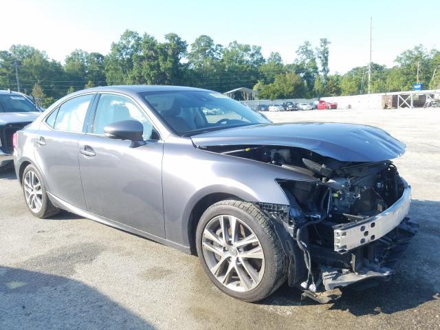 Salvage cars for sale at Savannah, GA auction: 2019 Lexus IS 300