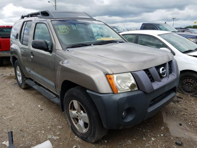 Nissan Xterra OFF salvage cars for sale: 2005 Nissan Xterra OFF