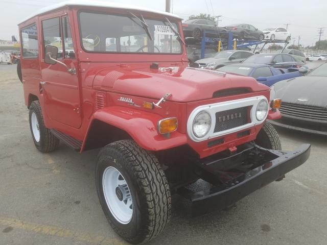Toyota Land Cruiser salvage cars for sale: 1971 Toyota Land Cruiser