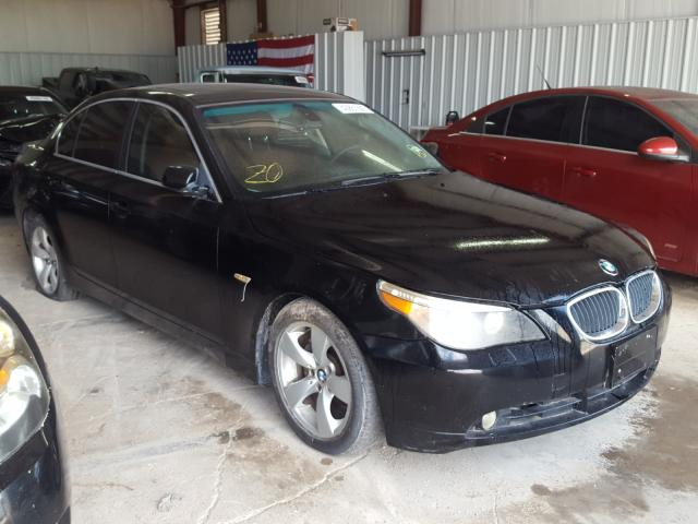 Salvage cars for sale from Copart Mercedes, TX: 2006 BMW 525 I