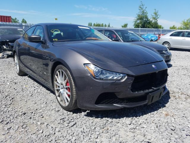 Maserati salvage cars for sale: 2015 Maserati Ghibli S