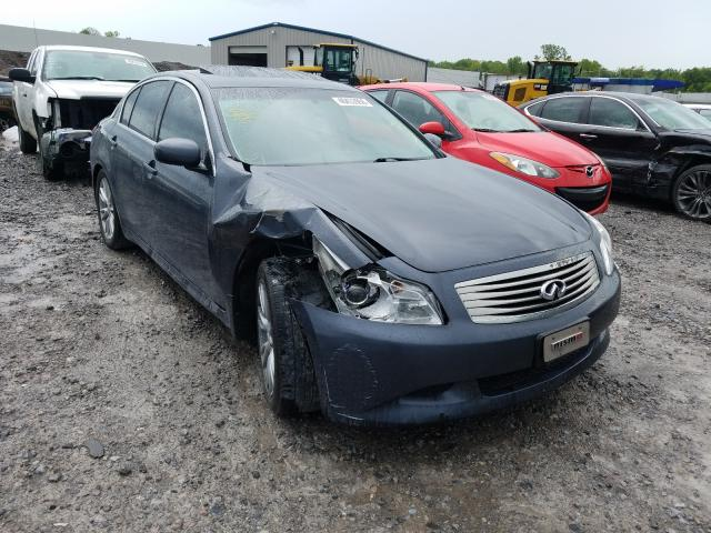 Infiniti salvage cars for sale: 2007 Infiniti G35