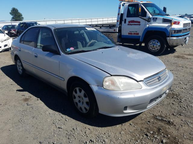 Salvage cars for sale from Copart Airway Heights, WA: 2000 Honda Civic Base