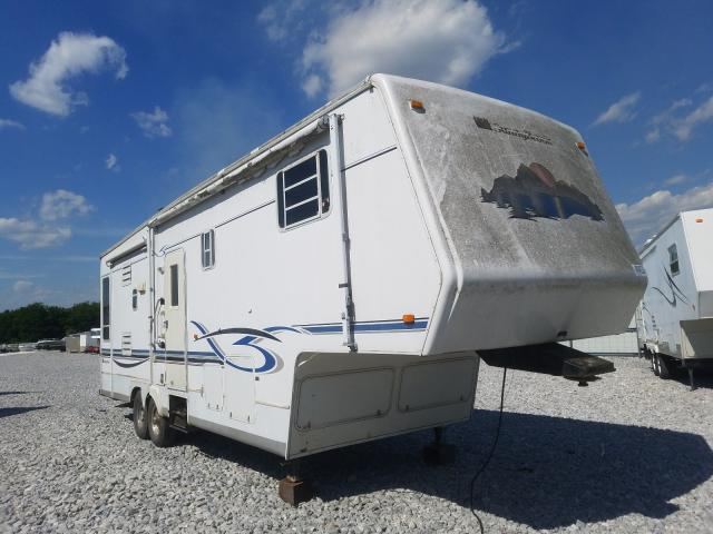 Sunnybrook salvage cars for sale: 2002 Sunnybrook 5th Wheel