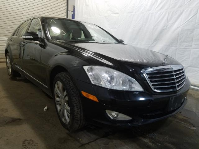 Salvage cars for sale from Copart Central Square, NY: 2009 Mercedes-Benz S 550 4matic