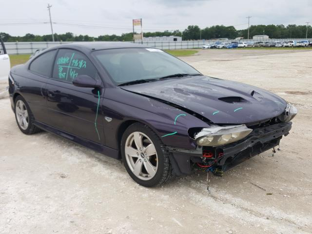 Pontiac salvage cars for sale: 2004 Pontiac GTO