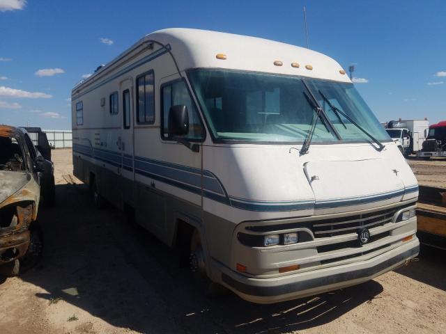 Holiday Rambler salvage cars for sale: 1993 Holiday Rambler Motorhome