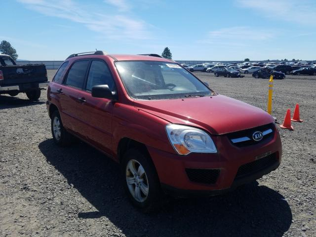Salvage cars for sale from Copart Airway Heights, WA: 2009 KIA Sportage L